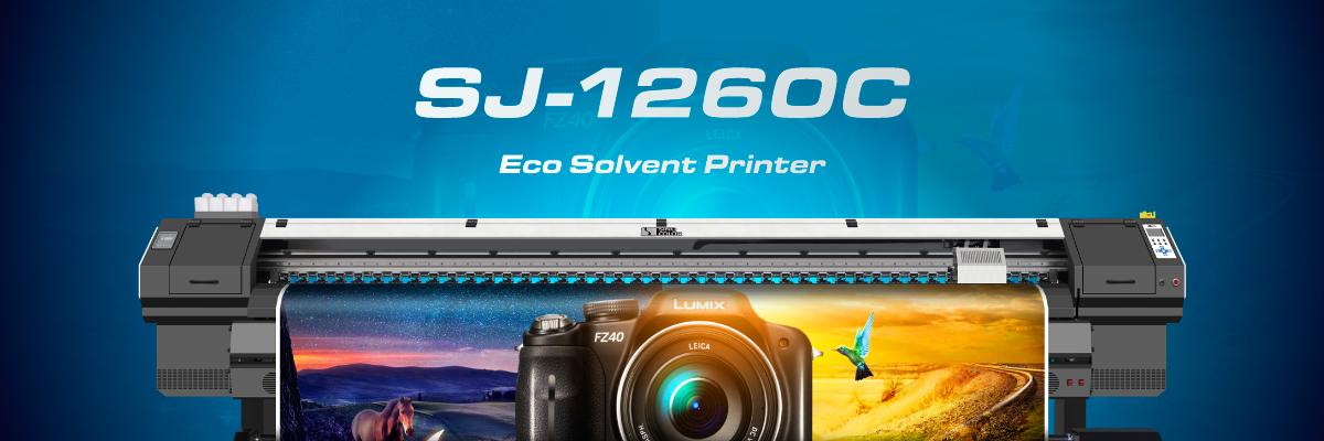 SJ-1260&SJ-1260E Eco Solvent Printer image
