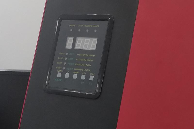 Hệ thống kiểm soát nhiệt độ máy in decal