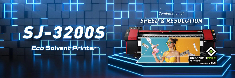 Eco Solvent Printer SJ-3200S image